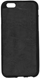 Iphone 6/6S Leather TPU Black