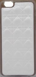 Iphone 6/6S Argyle Leather White