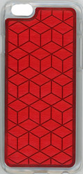 Iphone 6/6S Argyle Bumper Red