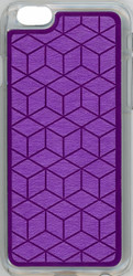 Iphone 6/6S Argyle Bumper Purple