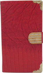 Blu 5.0 MM Deluxe Wallet Red