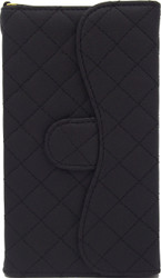 Blu 5.0 II Quilted Wallet With Chain Black