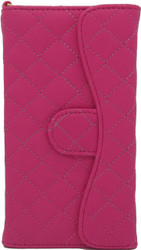 Blu 5.0 S II Quilted Wallet With Chain Pink