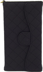 Blu 5.0 S II Quilted Wallet With Chain Black