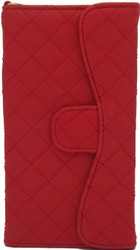 Blu 5.0 S II Quilted Wallet With Chain Red