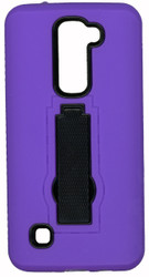 LG K7/Tribute 5 / Escape 3 Armor Horizontal With Kickstand Purple