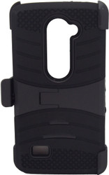 SOLD OUT LG Leon Armor Case with Clip Black