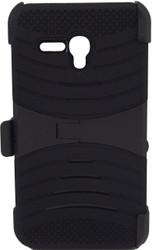 Alcatel Fierce XL Armor Case with Clip Black