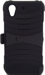 HTC Desire 626 Armor Case with Clip Black