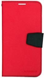 Samsung Galaxy Mega 2  MM Professional Wallet Red