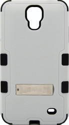 SOLD OUT Samsung Mega2 MYBAT Natural Gray/Black  TUFF Hybrid Protector Cover (with Stand)