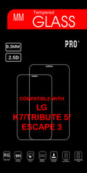 LG K7/Tribute 5 / Escape 3 Tempered Glass