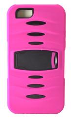 Motorola E2 LTE CDMA MM Kickstand Case Pink