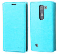 LG Volt 2 MYBAT Blue MyJacket Wallet(with Tray)(564) (with Package)