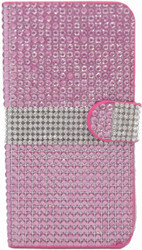 iphone 6 Plus/6S Plus Full Bling Wallet Pink