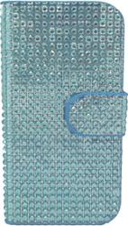 Samsung S3  Full Bling Wallet Blue
