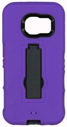 Samsung Galaxy S7 Armor Horizontal With Kickstand Purple