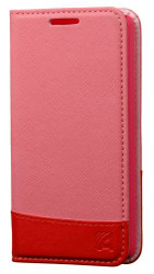SOLD OUT LG TRIBUTE 2 / C40 LEON ASMYNA Pink/Red MyJacket wallet (with card slot)(with Package)