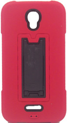 Alcatel Elevate Armor Horizontal With Kickstand Red