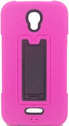 Alcatel Elevate Armor Horizontal With Kickstand Pink