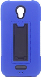 Alcatel Elevate Armor Horizontal With Kickstand Blue