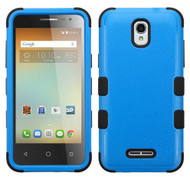 Alcatel Elevate MYBAT Natural Dark Blue/Black TUFF Hybrid Phone Protector Cover