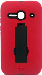 Alcatel Evolve 2  Armor Horizontal With Kickstand Red