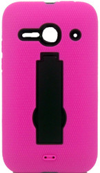 Alcatel Evolve 2  Armor Horizontal With Kickstand Pink