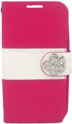 LG Optimus L90 MM Flower Wallet Pink
