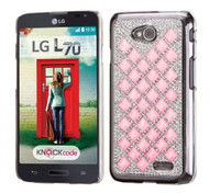 SOLD OUT LG Optimus L70 MYBAT Pink Desire Back Protector Cover