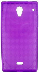 Sharp Aquos Crystal TPU Purple