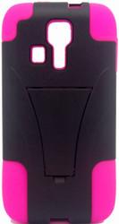 Kyocera Hydro Icon/ Life/ Vibe KickStand Pink& Black