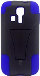 Kyocera Hydro Icon/ Life/ Vibe KickStand Blue & Black