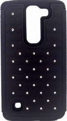 SOLD OUT LG Spirit ASMYNA Hot Black Full Star Protector Cover