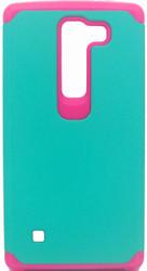 LG Spirit ASMYNA Green/Pink Astronoot Phone Protector Cover