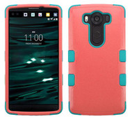 LG V10 MYBAT Natural Baby Red/Tropical Teal TUFF Hybrid Phone Protector Cover