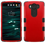 LG V10 MYBAT Natural Red/Black TUFF Hybrid Phone Protector Cover