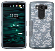 LG V10 MYBAT Universal Camouflage/Iron Gray TUFF Hybrid Phone Protector Cover