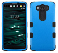 LG V10 MYBAT Natural Dark Blue/Black TUFF Hybrid Phone Protector Cover