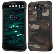 LG V10 ASMYNA Camouflage Gray Backing/Black Astronoot Phone Protector Cover