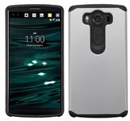 LG V10 ASMYNA Silver/Black Astronoot Phone Protector Cover