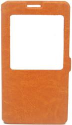 Samsung Note 3  Caller ID Flip Wallet Orange