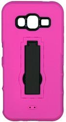 Samsung Galaxy J5 Armor Horizontal With Kickstand Pink