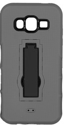 Samsung Galaxy J5 Armor Horizontal With Kickstand Grey