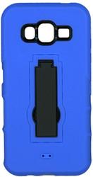 Samsung Galaxy J5 Armor Horizontal With Kickstand Blue