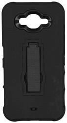 Samsung Galaxy J7 Armor Horizontal With Kickstand Black