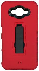 Samsung Galaxy J7 Armor Horizontal With Kickstand Red