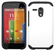 Motorola Moto G ASMYNA White/Black Astronoot Phone Protector Cover