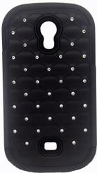 Samsung Galaxy Light T399 Dual Bling Case Black