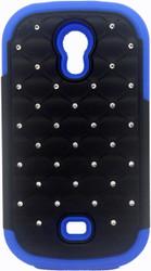 Samsung Galaxy Light T399 Dual Bling Case Blue